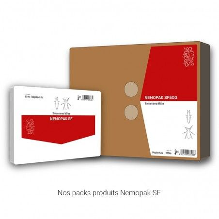 Nos packs produits Nemopak SF
